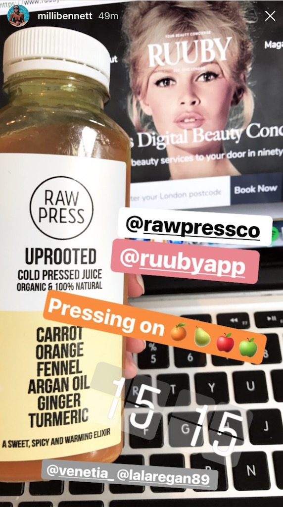 ruuby-app-juice-cleanse-day-two